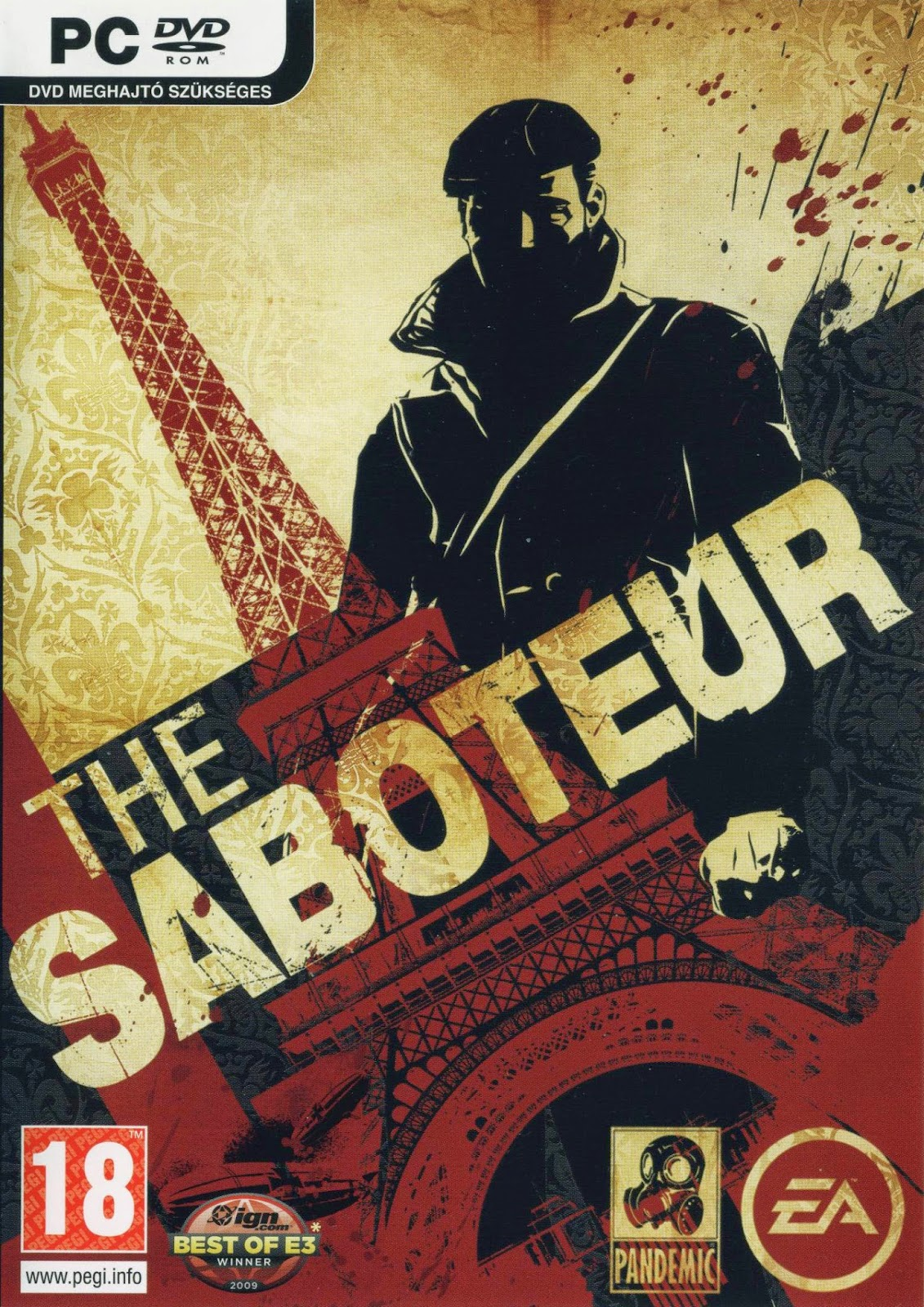 THE SABOTEUR-REPACK