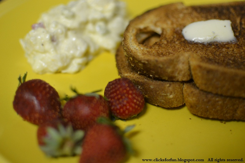 breakfast bread strawberry potato salad