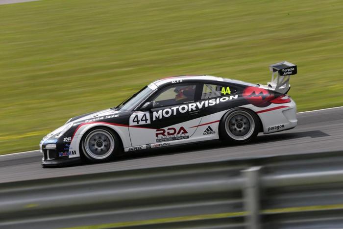 Porsche Carrera Cup - Alex Riberas en Norisring