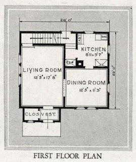 Catalog Floorplan of Sears Brookwood