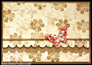 Bloomin Marvelous Thinking of You Card by Stampin' Up! Demonstrator Bekka Prideaux - find out on her blog how to get this stamp set free until 22 March 2013