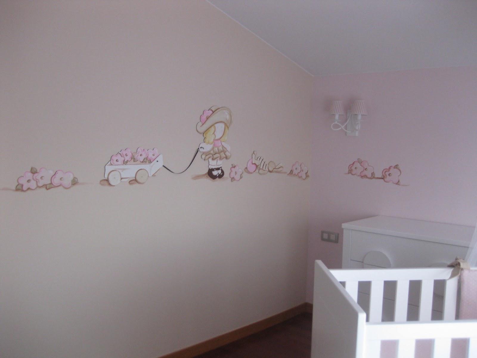 Peinture chambre fille dco chambre fille peinture rose et - Peinture pour chambre de fille ...