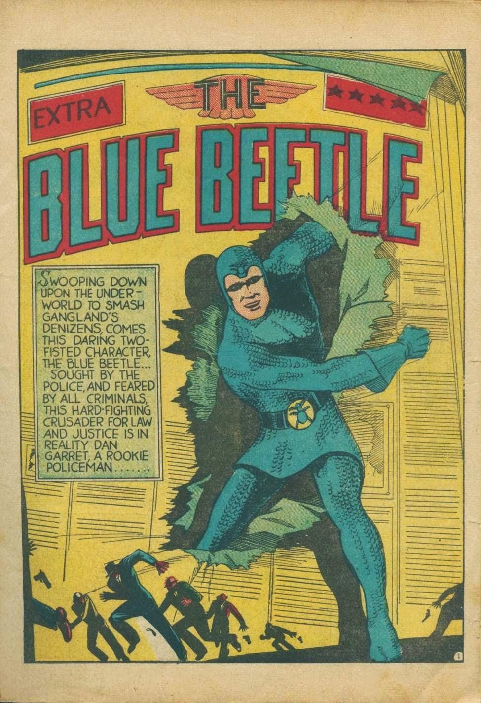 BLUE BEETLE: B.C.