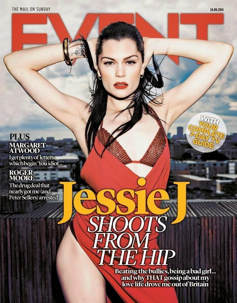Jessie J  - Event Magazine ,Mail On Sunday