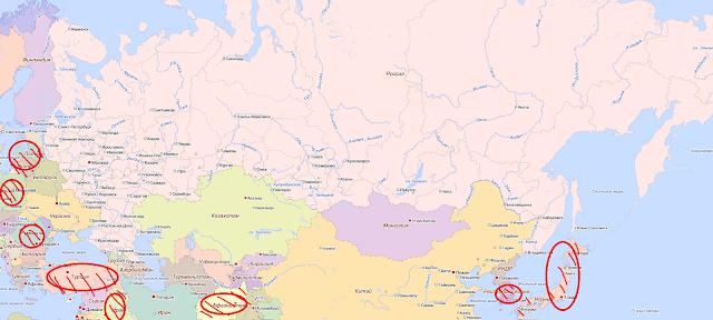 Россия в окружении