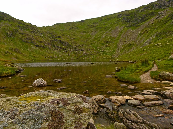 English Lakes, glacial features, Small Water, tarn, Mardale