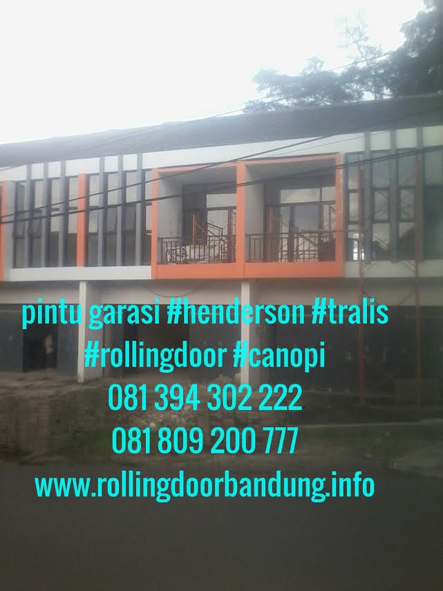 rolling door , folding gate , pintu henderson bandung 081809200777 - 081394302222