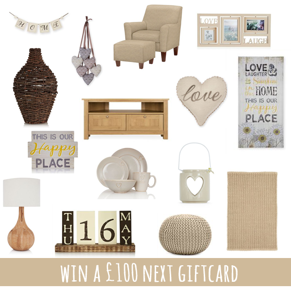 Win A £100 Next Giftcard