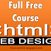 Full Free HTML Web Design Course