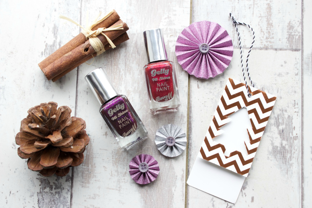 Traditional Christmas Nails from Barry M