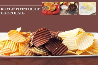 Royce Chocolate Malaysia, Royce Potatochips Chocolate Fromage Blanc,