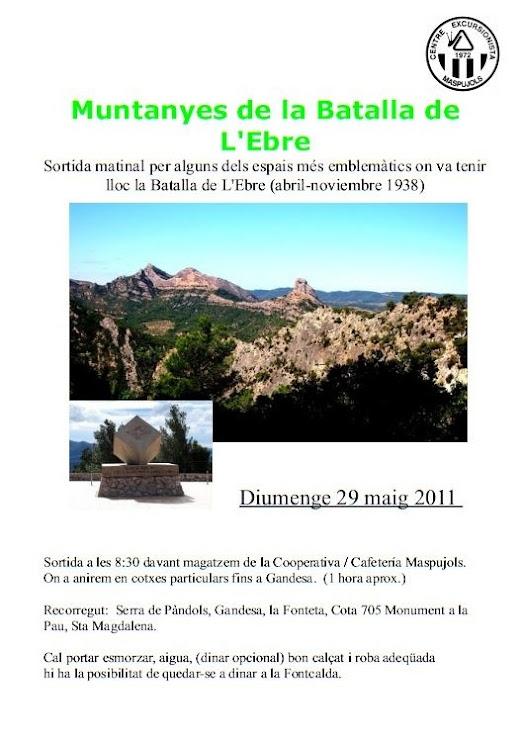 29 de maig - Serra de Pàndols