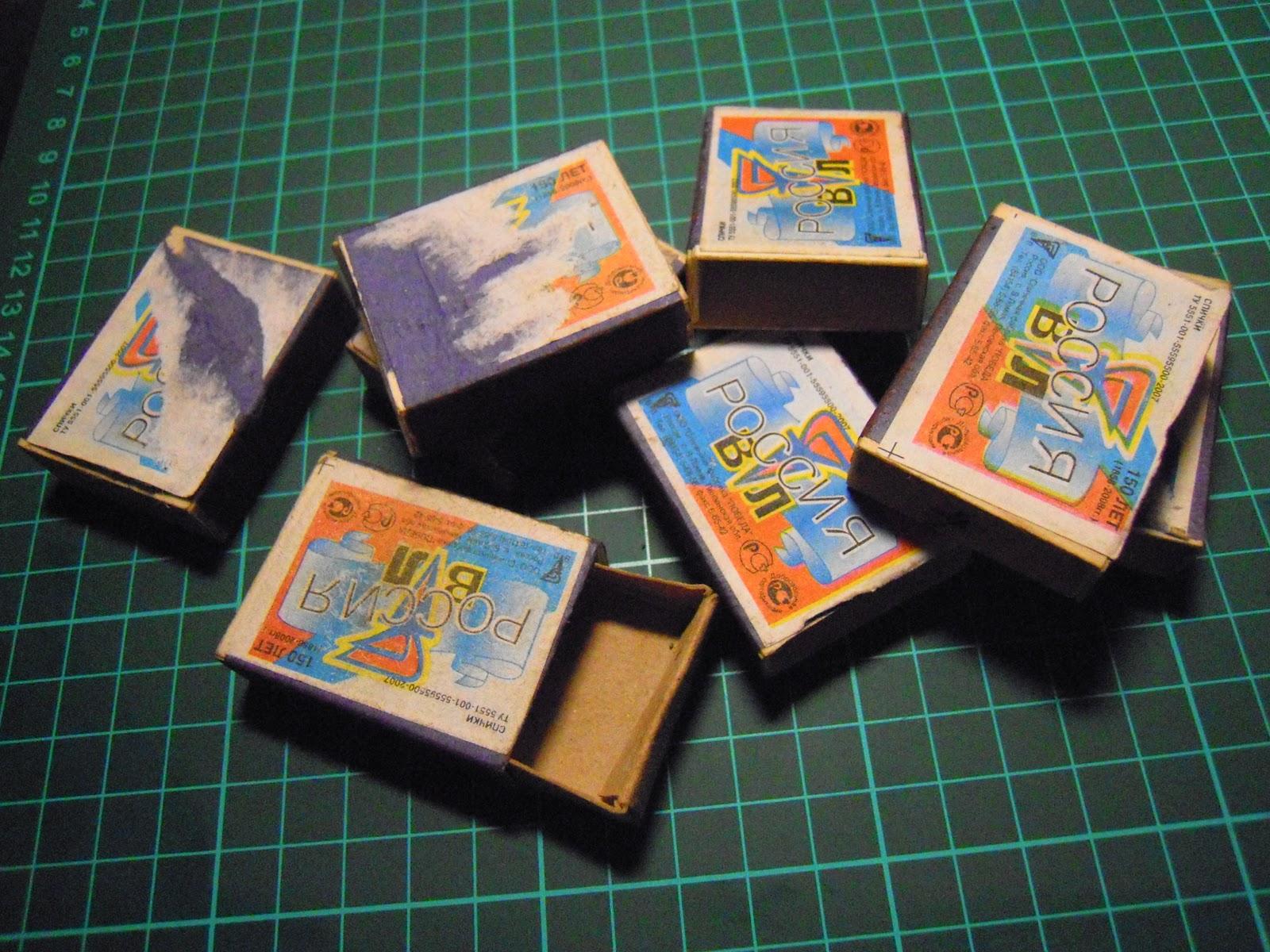 Что можно сделать из 4 коробка спичек 15 фотография