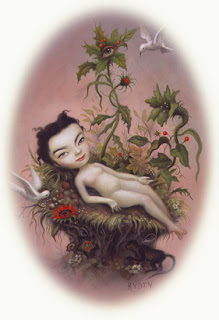 Mark Ryden painting - Bjork