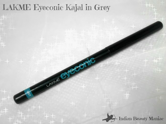 lakme eyeconic grey eyeliner pencil