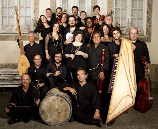 domingo a Orquestra Barroca da UniRio se apresenta no Música na Matriz
