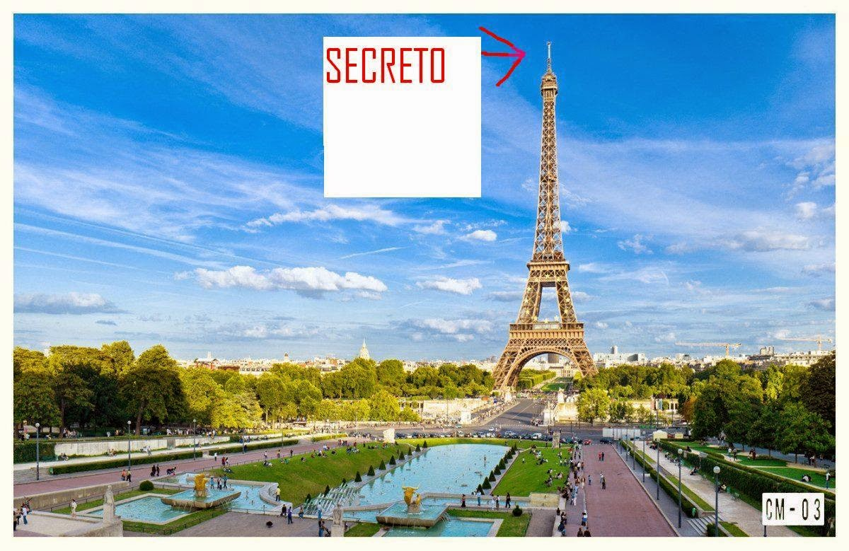 El secreto que oculta la torre eiffel en su punto m s alto for Cuartos decorados de la torre eiffel