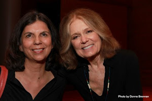 Ms. Steinem and I