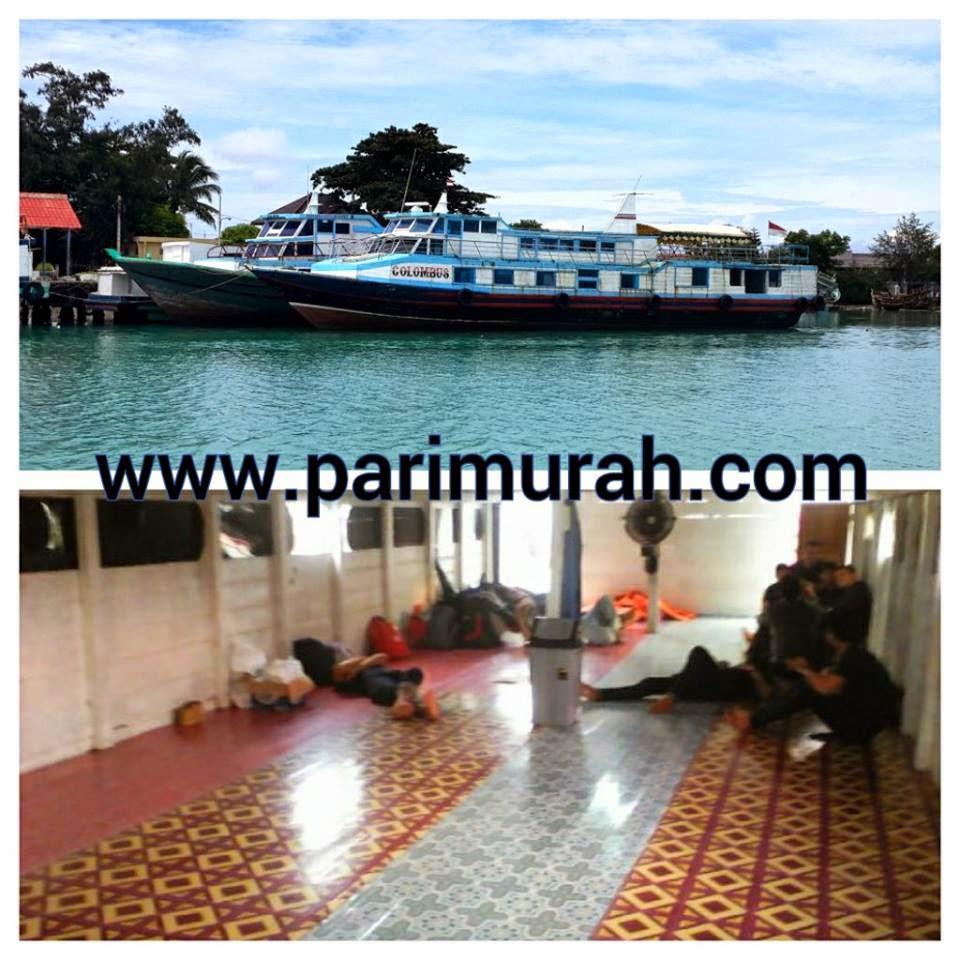 Kapal Ferry Pulau Pari