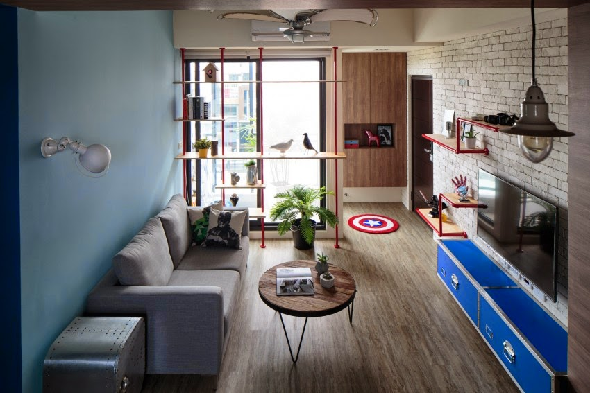 decoracao de apartamentos pequenos para homens : decoracao de apartamentos pequenos para homens:Blog Achados de Decoração: APARTAMENTO DECORADO PARA HOMENS OU