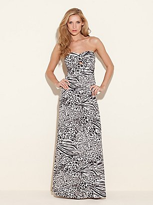 Leopard Print Maxi Dress on Maxi Dress Animal Fiesta Print   108 Guess Chelsea Maxi Dress Printed