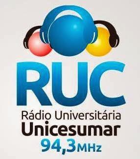 Rádio Universitária Unicesumar RUC FM de Maringá PR ao vivo