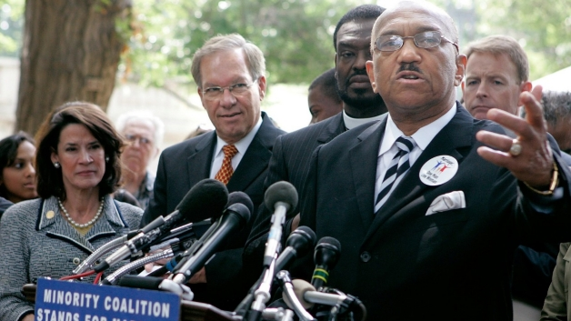 Coalition of African American Pastors against Obama gay stance