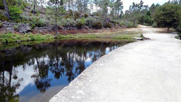 Praia Fluvial do teixo á muito tempo atrás
