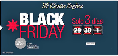 Black friday el corte ingles 2013