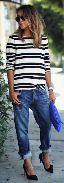 como usar listras - ou stripes