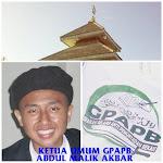 Ketua GPAPB (Al-Akh Abdul Malik Akbar al Jakarty)