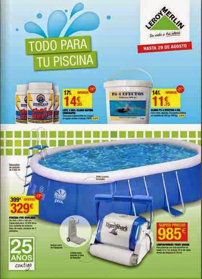 Todo para tu piscina leroy merlin catalogo 2014 for Piscinas leroy merlin 2016