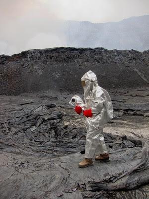 Expedicion al crater del volcan Nyiragongo - 9