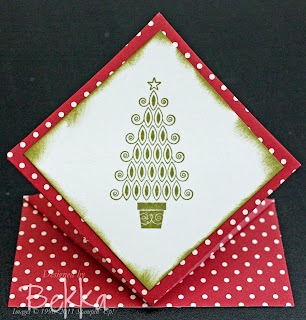Pop up Christmas Tree Card by Bekka www.feeling-crafty.co.uk