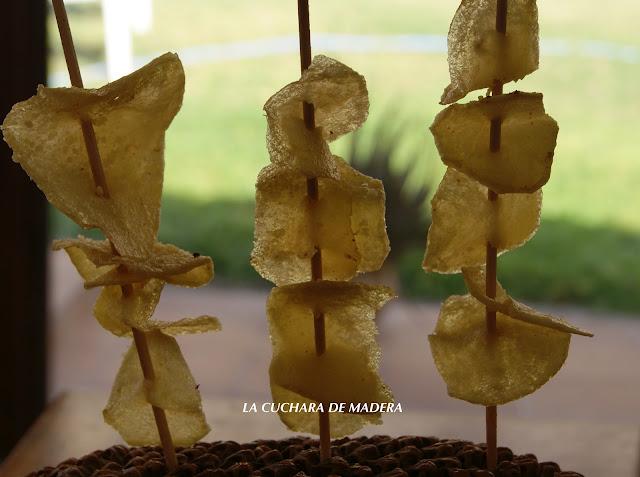 Chips De Parmesano
