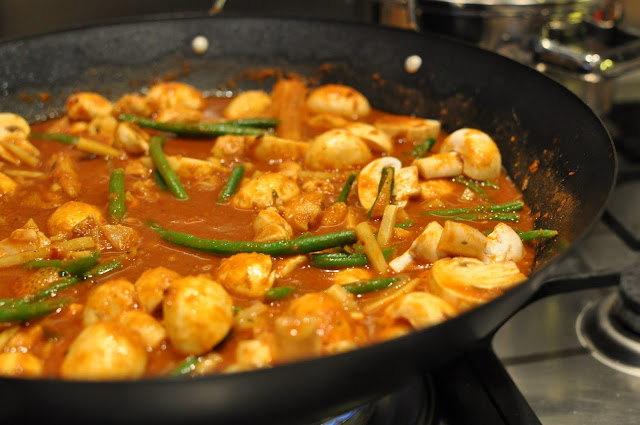 Červené curry Penang/Penang red curry