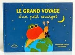 le grand voyage d'un petit escargot, ed. Circonflexe
