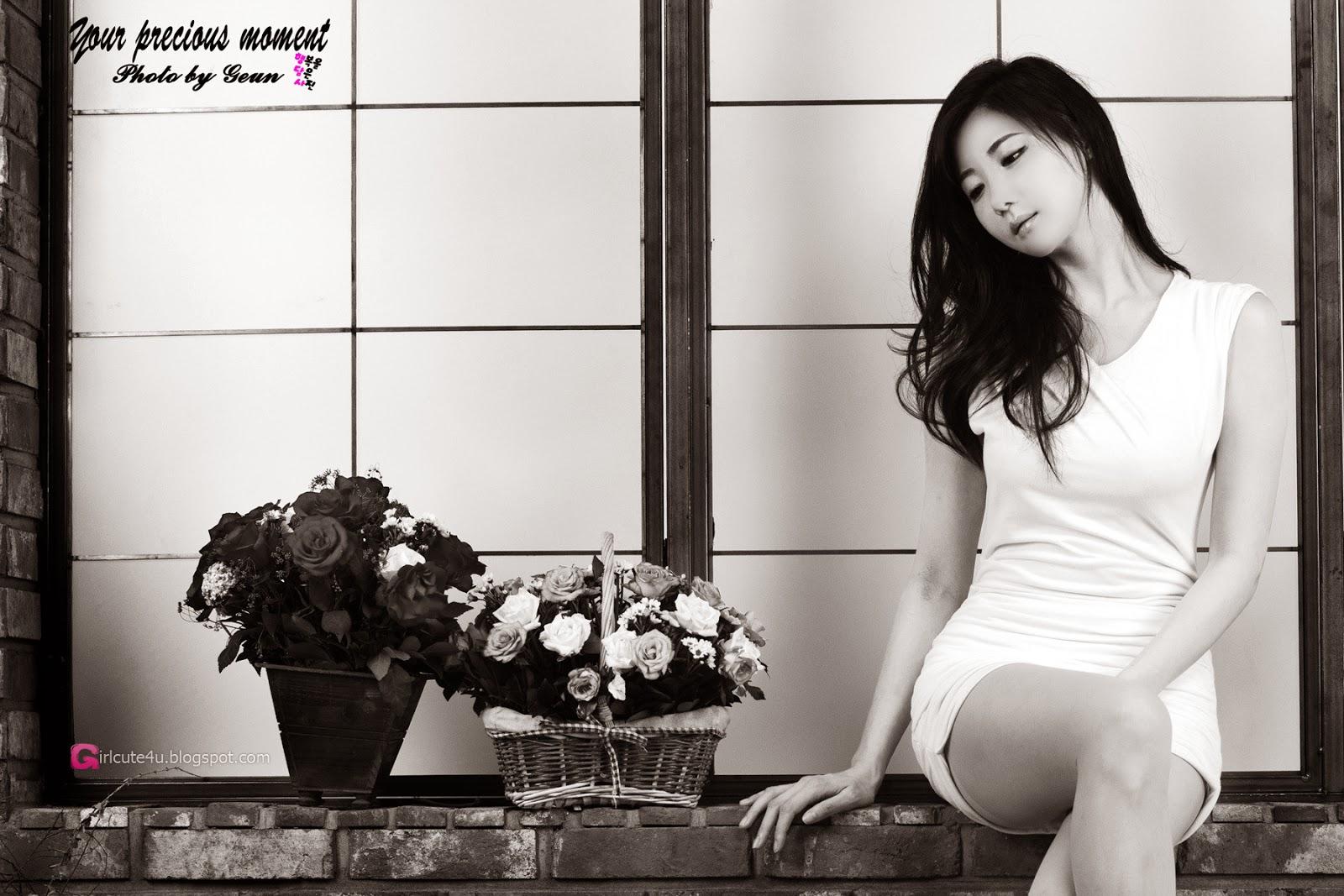 5 Yeon Da Bin- Three new studio sets - very cute asian girl - girlcute4u.blogspot.com