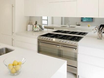 forty weeks inspiration glass backsplashes for the kitchen