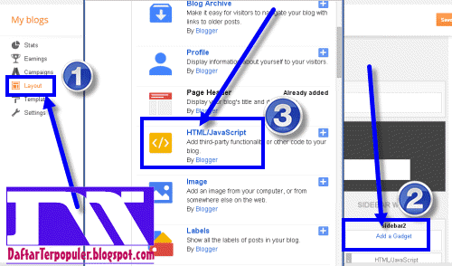 cara memasang video youtube di sidebar blog