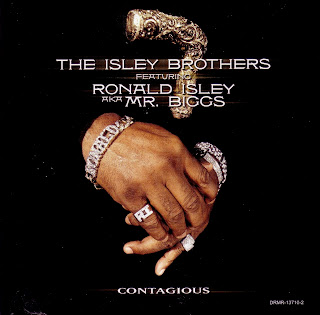 THE ISLEY BROTHERS - CONTAGIOUS (PROMO SINGLE CD) (2001)