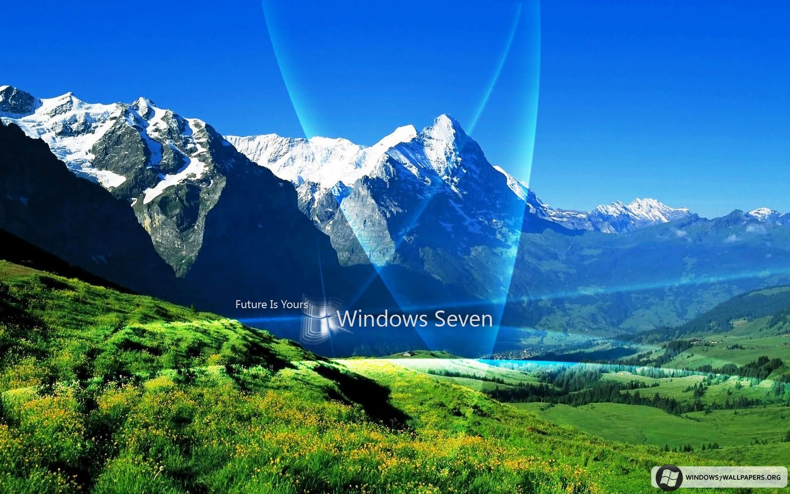Cool Natural Windows7 Seven Desktop Wallpaper 1680x1050