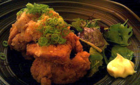 Wafu Deep Fried Chicken with Radish Sauce and Mayonnaise