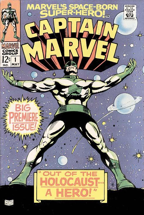 Gene Colan - Capitán Marvel