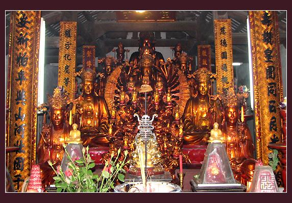 Chùa Mễ Sở - Những ngôi chùa nổi tiếng ở Miền Bắc