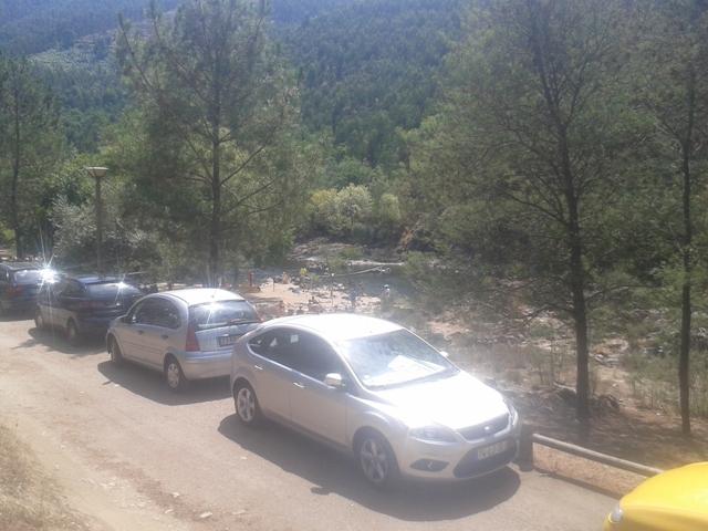Parque de Estacionamento da Praia do Areinho