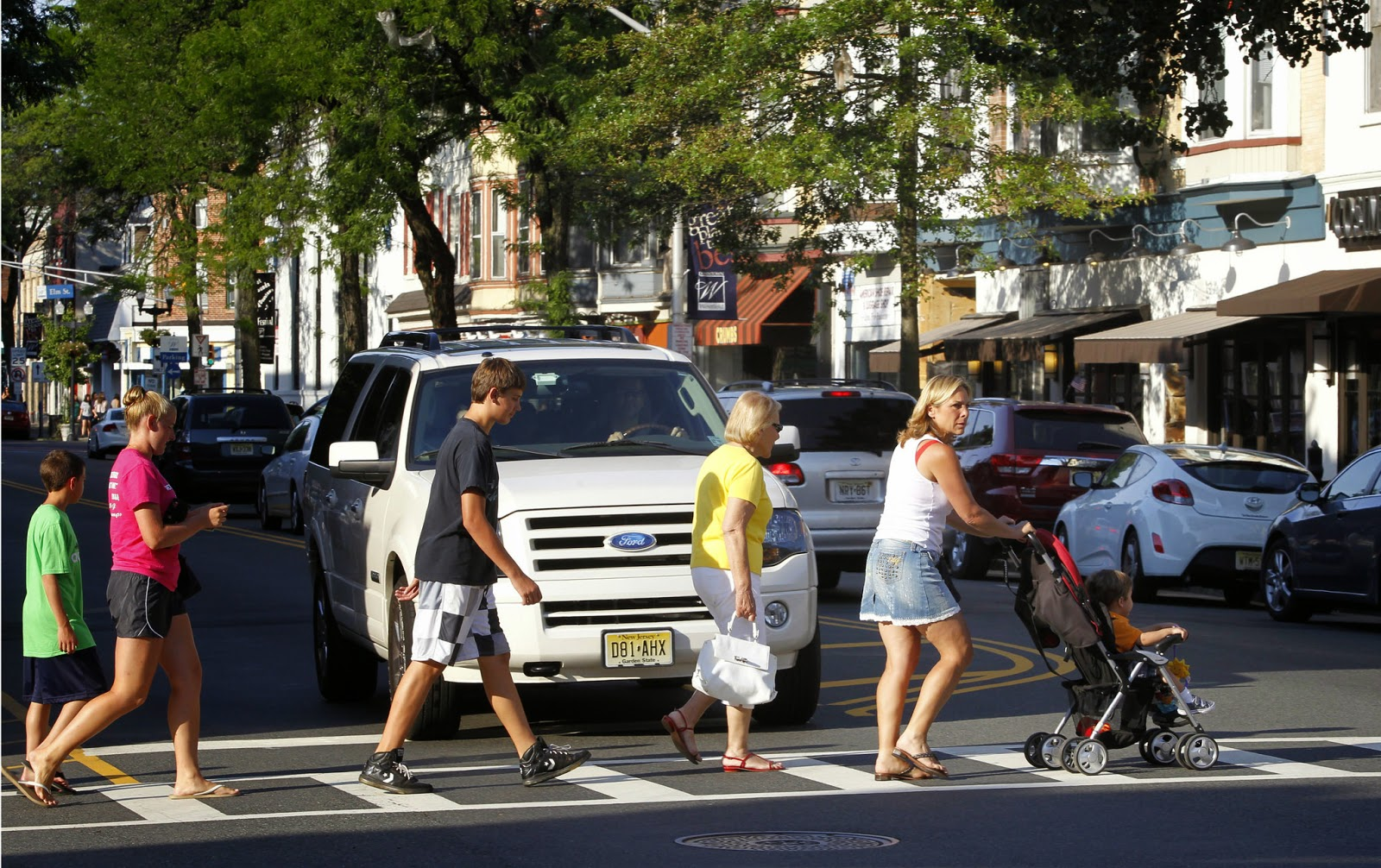 What does the Law say about Observing a Pedestrian in a Crosswalk?