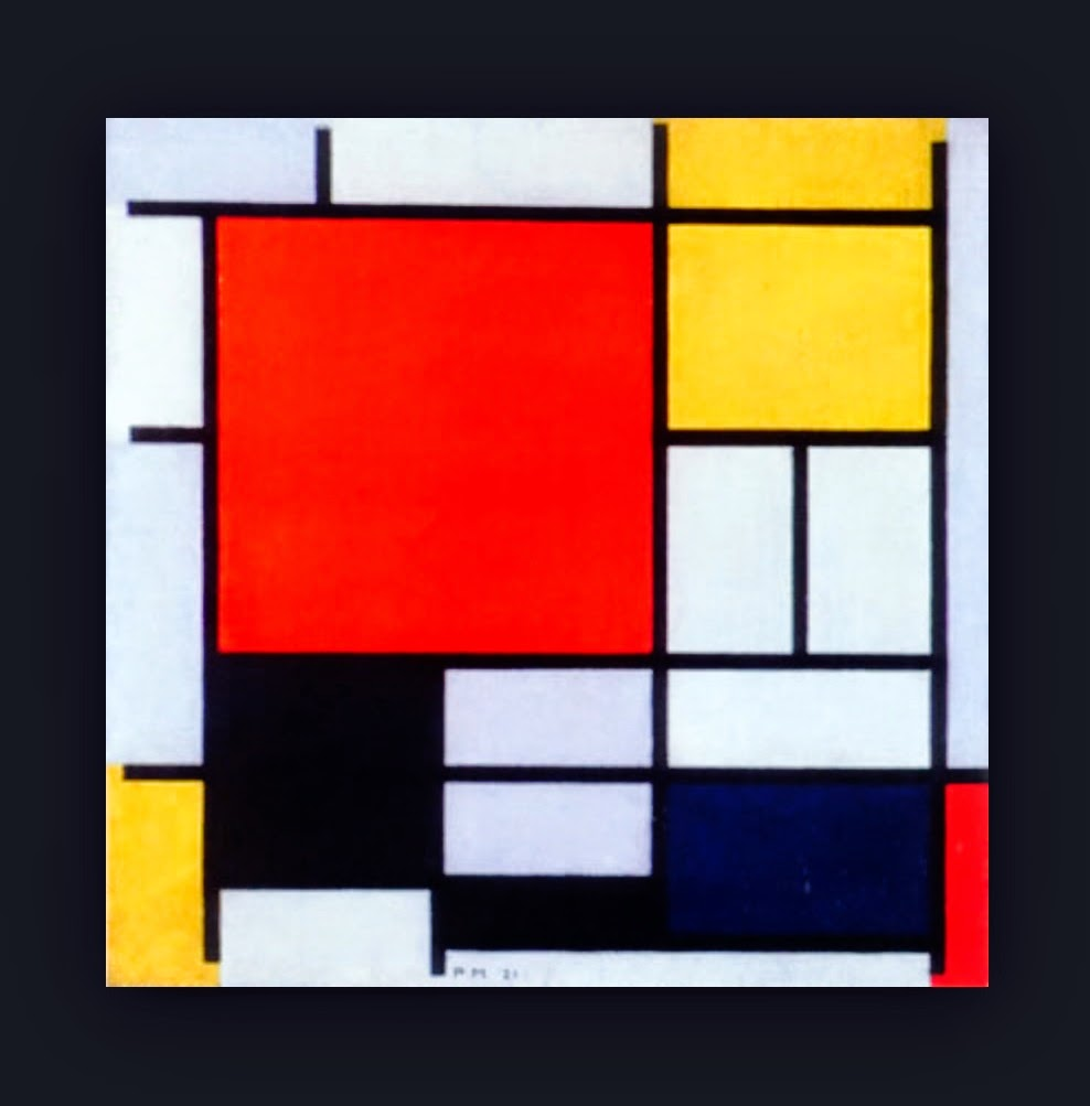 the influence of piet mondrian in fine arts A pioneer of abstract art, piet mondrian (1872-1944), started his career painting landscapes until he developed an interest in the mystical principles of theosophy and began radically simplifying his paintings to create non-representational art.