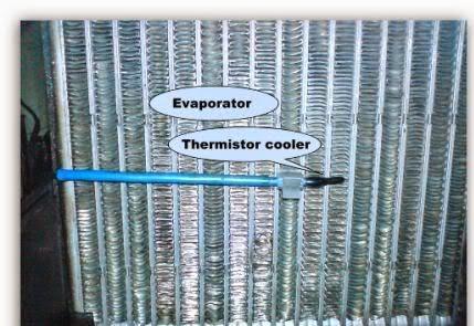 Sensor Thermistor Suhu AC Mobil