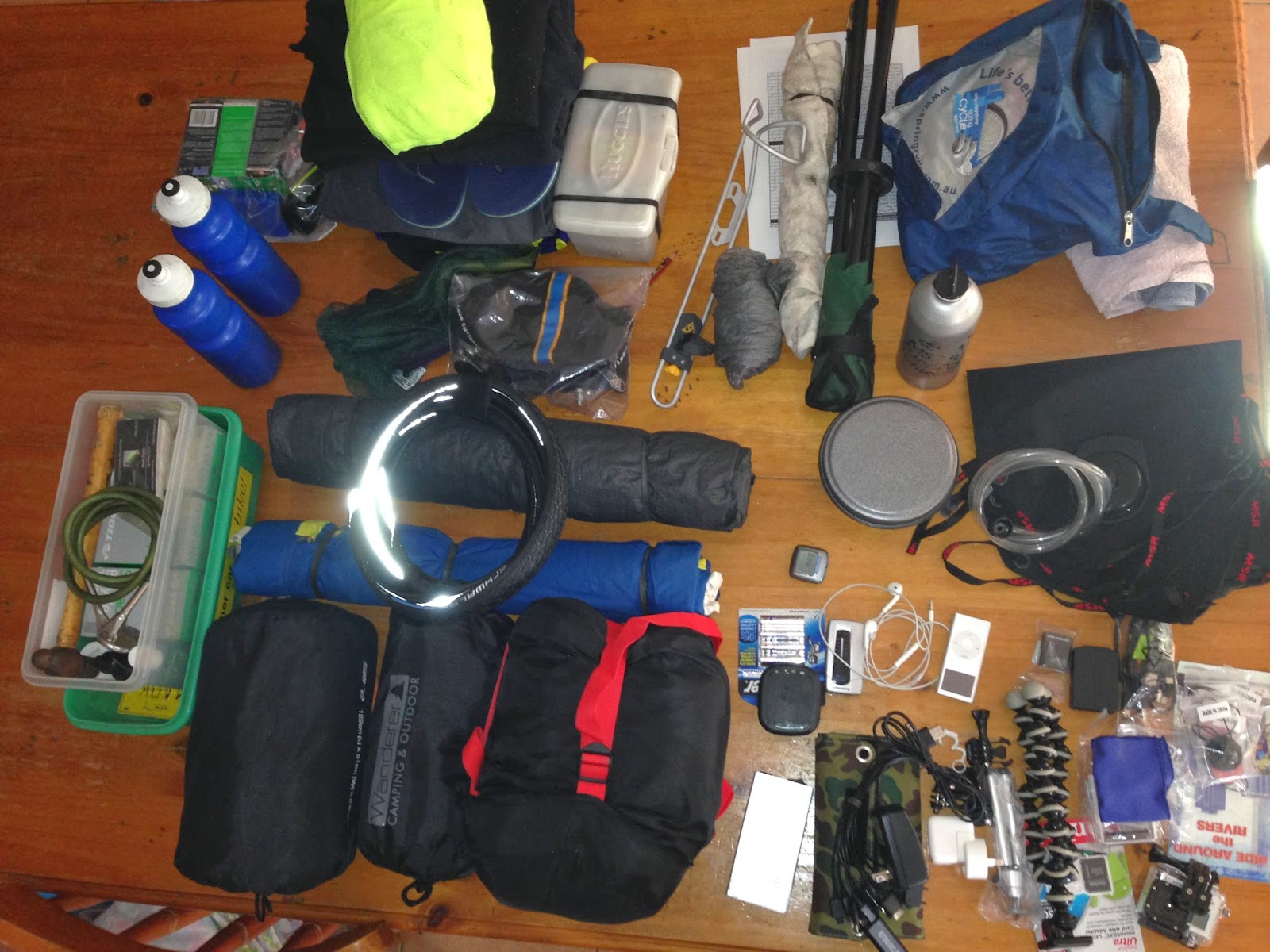 rotovelo across australia : gear out.